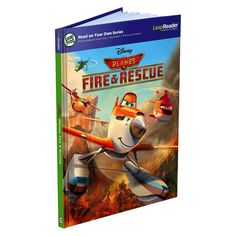 LeapFrog LeapReader Read On Your Own Book: Disney Planes Fire and Rescue