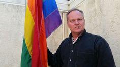 High above Mobile's 'Alamo,' gay former U.S. Army colonel flies pride flag   AL.com