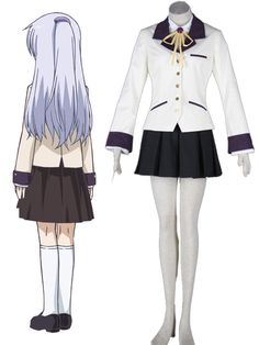 Inventive Anime Charlotte Cosplay Costumes Tomori Nao Shcool Uniform Yuu Otosaka Cosplay Costumes Halloween Party Unisex Cosplay Costumes & Accessories Anime Costumes