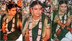 From Neetu Singh and Jaya Badhuri to Madhuri Dixit and Kajol, right up to the younger lot Kareena and Genelia, we decided to revisit the bridal look of our Tamil Wedding, Bollywood Wedding, Indian Bollywood, Bollywood Stars, Saree Wedding, Bollywood Fashion, Bollywood Couples, Bollywood Celebrities, Wedding Looks