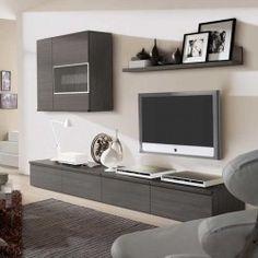 Meuble tv mural design oslo atylia meubles tv et tables for Meuble tv mural 2m40