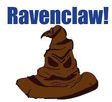 sorting hat ravenclaw by RedishBeaks11