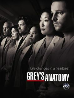 "Grey's Anatomy!!!! i love this show! n i love even more that i know exactly what they are talking about when they talk in ""medical terminology""(:"
