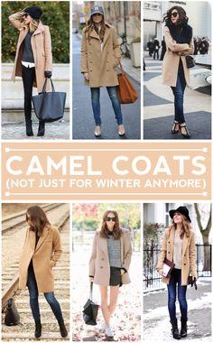 camel coats -- not just for winter anymore.