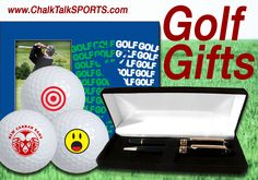 Know someone who is always running off to the golf course? Find them the perfect personalized golfing fits! From custom balls to apparel, Chalk Talk Sports has it all.