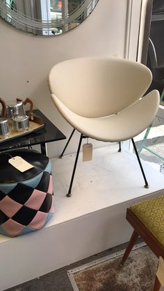Lip Chair $590 from Add+Vintage, please contact Linda to purchase Eames, Sally, Lounge, Chair, Furniture, Vintage, Home Decor, Airport Lounge, Decoration Home