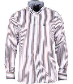 Modernes #Streifenhemd aus der #Yachting Kollektion von CLAUDIO CAMPIONE.