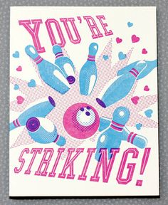 New Valentine's cards from Hello!Lucky. Win this one on our blog today (1/12).