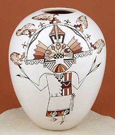 Hopi Pueblo Pottery. Pottery has evolved from a purely functional piece to a highly formed and stylised piece of art. Traditional Hopi pottery is generally divided into three phases:Phase I through III 800 – 1300 A.D; 2nd: 1400-1600 AD; and the 3rd: The revival 1870-now.
