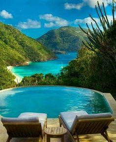 Guana Island, Caribbean Breathtaking!!