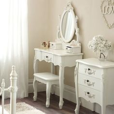 Dressing Table and Stool
