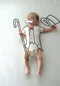 Bebê desenhado