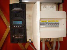 Regulador y cuadro eléctrico