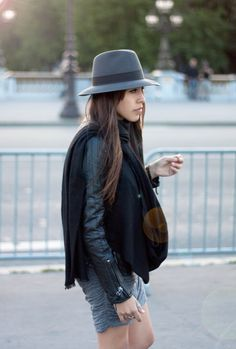 street style, All gray
