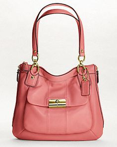 Coach Coral Tote I should have grabbed this the first time I saw it :( now I can't find it