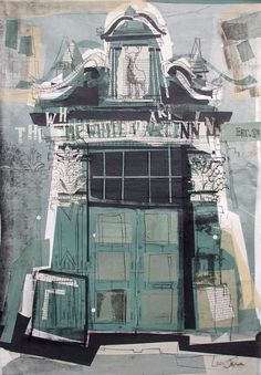 Lucy Jones — The White Hart Inn, Grassmarket Collage with...