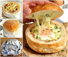 ham egg and cheese bowls