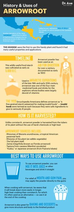 Arrowroot Benefits - Dr.Axe http://www.draxe.com #health #holistic #natural…