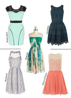 Spring Graduation Dresses