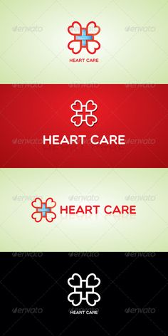 Heart Care Stock Logo Template — Vector EPS #affection #kind • Available here → https://graphicriver.net/item/heart-care-stock-logo-template/7512771?ref=pxcr