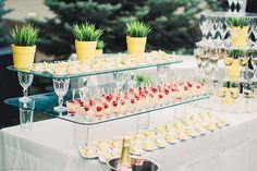 Свадьба в европейском стиле, фуршетный стол - The-wedding.ru