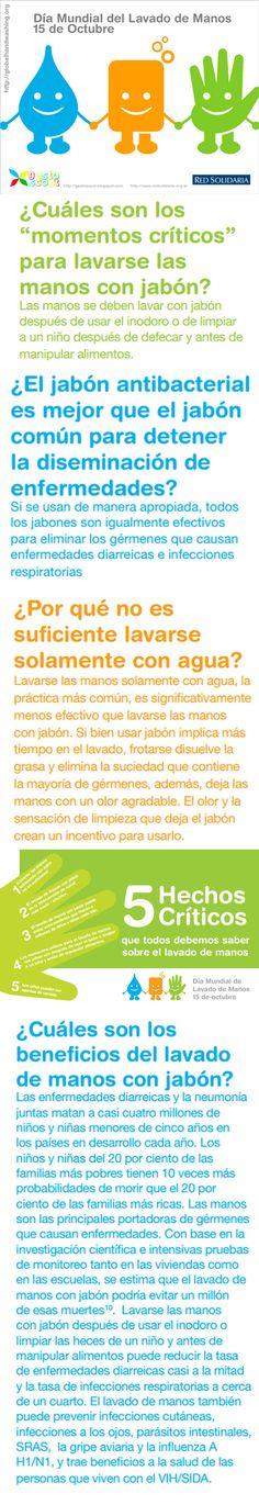 D a mundial del lavado de manos medical times infograf a - Alimentos para ir al bano inmediatamente ...