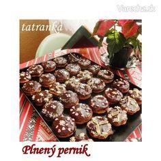 Plnené čokoládové perníčky (fotorecept)