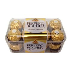 Making your own homemade candy has never been easier, such as these Homemade Ferrero Rocher Hazelnut Truffles! Perfect holidays and DIY gifts! Chocolate Gift Boxes, Chocolate Sweets, Bombones Lindor, Chocolates Ferrero Rocher, Cadbury Celebrations, Cocoa, Chocolate Delivery, Sweets Online, Homemade Candies