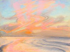 """Rhythm of Life,""  Pastel, 9x12 in.  Sarah Szabo (2012)"
