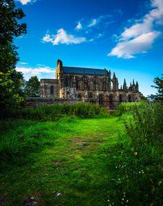 Rosslyn Chapel, Roslin, Scotlandx