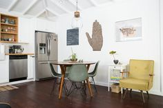 A Small Silver Lake Bungalow That's a Little Bit Rock & Roll