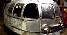 Some tiny vintage camping vehicles  for you to enjoy.  The top one's especially cute but I have no information about it.  Perhaps someone kn...