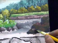 Como pintar paisagem 2 - com Escudeiro. - Painting landscapes - Escudeiro - YouTube