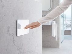 The Geberit flush plate features a beautifully smooth & seamless surface. Thanks to its soft-touch button all.