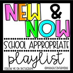 I use Spotify playlists by Maniacs in the Middle. This one I will play if we're doing something up and moving around. She also has a calm playlist that I'll play if the students are writing or working individually. Middle School Dance, Middle School Classroom, Future Classroom, Classroom Playlist, Music Classroom, Songs For The Classroom, Business Education Classroom, Kindergarten Classroom, Pentatonix