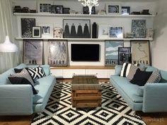 Uzależniona od remontu, czyli co tu jeszcze zmienić Wooden Flooring, My Room, Couch, Throw Pillows, Living Room, Interior Design, The Originals, Bed, Inspiration