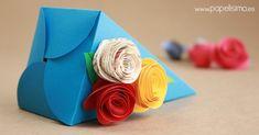 26 Idéias de Como Fazer Caixa de Presente Para Todas As Ocasiões Craft Stick Crafts, Diy And Crafts, Arts And Crafts, Paper Crafts, Hobbies And Crafts, To My Daughter, Daughters, Small Gifts, Quilling