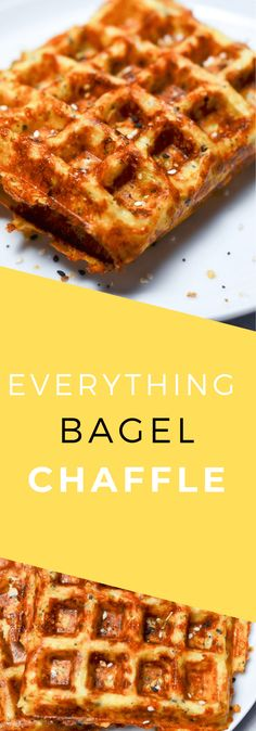 Everything Bagel Chaffles! Delicious chaffles that will give you that everything bagel taste with fewer carbs! Everything Bagel Chaffles! Delicious chaffles that will give you that everything bagel taste with fewer carbs! Ketogenic Recipes, Low Carb Recipes, Ketogenic Diet, Protein Recipes, Healthy Recipes, Freezer Recipes, Shake Recipes, Juice Recipes, Low Carb Breakfast