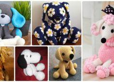 DIY Crochet Amigurumi Puppy Dog Stuffed Toy Patterns