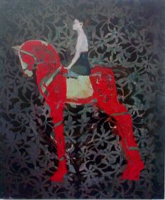 Pascale Chandler. Red Horse.