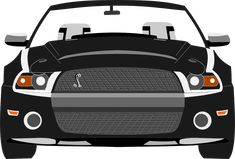 Easy Car Drawing For Kids Ford Mustang - http://newsfordmustang.com/easy-car-drawing-kids-ford-mustang-1217