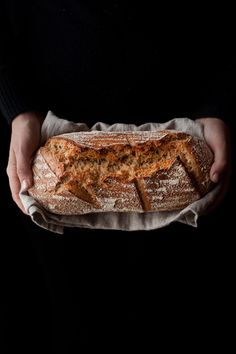 Pan sin amasado | ECOHAPPYANDHIPPIE Pan Bread, Bread Cake, Yeast Bread, Sourdough Recipes, Bread Recipes, Latin American Food, Salty Foods, Our Daily Bread, Mets