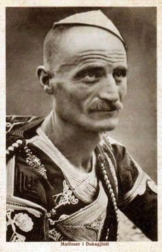 Albanian Mountaineer from Dukagjini.