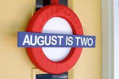 """London Calling""- A British Themed Birthday Bash via Kara's Party Ideas"