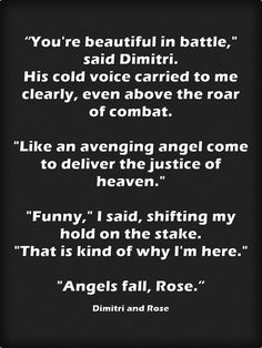 """From Spirit Bound- Rose and Dimitri- vampire academy"""