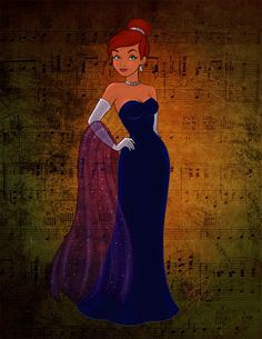 Another non-Disney princess. Background texture courtesy of *night-fate-stock, which can be found here: [link] Anastasia Princesa Anastasia, Anastasia Disney, Anastasia Film, Dimitri Anastasia, Anastasia Romanov, Anastasia Dress, Anastasia Cartoon, Anastasia Broadway, Disney Pixar