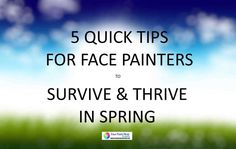5 quick tips to survive and thrive in Spring for face painters ideas Face Painting Supplies, Face Painting Tips, Face Painting Tutorials, Face Painting Designs, Painting For Kids, Painting Patterns, Body Painting, Diy Face Paint, Paint Set