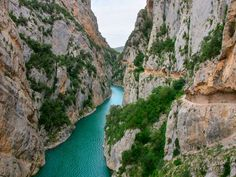 Congost de Mont-Rebei Places In Spain, Barcelona, Paradise, To Go, Water, Travel, Outdoor, Trips, Content