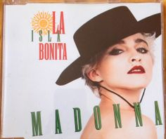 Madonna - La isla bonita (Cd single Yellow series) FRONT #Madonna