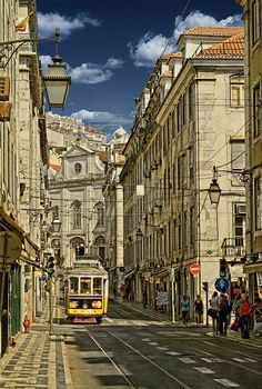 Lisboa - would love to go for at least 1 month and explore all of Portugal. Places Around The World, Oh The Places You'll Go, Travel Around The World, Places To Travel, Places To Visit, Around The Worlds, Sintra Portugal, Spain And Portugal, Portugal Travel